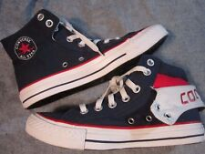 CONVERSE All Star Chuck Taylor Mens 5 Red White Blue Fold Down High Top Sneaker