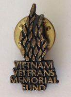 Vietnam Veterans Memorial Fund Pin Badge Vintage Military Rare (N22)