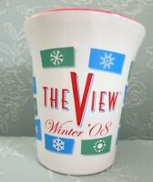 The VIEW TV Show Large Ceramic Coffee Cup Mug, Winter 2008