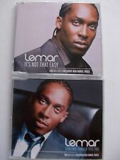 LEMAR 2CD PACK SOMEONE SHOULD…IT'S NOT THAT EASY **GC**