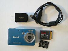 Kodak easyshare Mini M200 10mp Camera USB w/ 4GB card - CLEAN & GUARANTEED