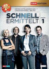 SCHNELL ERMITTELT, Staffel 1 (Ursula Strauss) 4 DVDs NEU+OVP