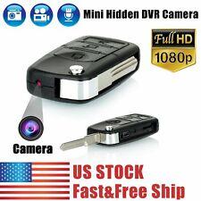 1080P HD Mini Car Key Hidden Spy Camera DVR Motion Detection Camcorder Cam