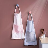 Unisex Kitchen Apron Chef BBQ Cooking Craft Baking Catering Apron New SG