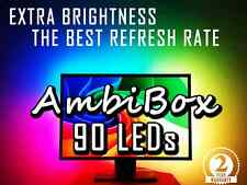 90 LED strip AmbiBox Lightpack Boblight backlights for TV or PC or XBMC