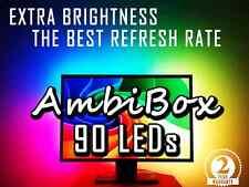 90 LED strip AmbiBox Lightpack Boblight backlights for TV or PC or XBMC