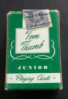 Vintage 1950's Arrco Tom Thumb Mini Deck of Poodle Design Playing Cards RARE