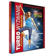EWA CHODAKOWSKA TURBO WYZWANIE   DVD POLISH  Shipping Worldwide