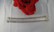 Sterling Silver Milor Italy Wave Design 37.92g Bracelet Cat Rescue