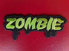 MOTORBIKER ZOMBIE ROB APOCALYPSE KEEPSVILLE EMBROIDERED QUALITY PATCH UK SELLER