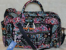 NWT VERA BRADLEY Quilted Iconic Compact Weekender Travel Bag Fox Forest