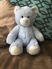Build a Bear Cuddly Blue Sparkle Winter Snowflake Bear Limited Edition Plush
