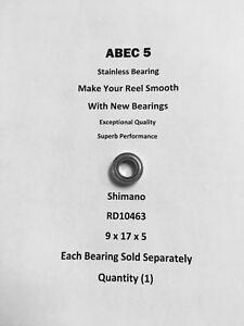 Shimano Spheros 8000FB  RD10463 ABEC5 Stainless Bearing 9x17x5 #04
