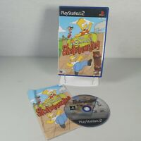 The Simpsons Skateboarding Playstation PS2 Sports Video Game Manual PAL