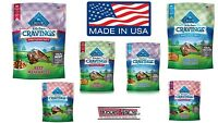 Natural Blue Buffalo Cravings Chicken or Beef Dog Chews Treats Training USA Made
