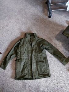 Ventile Jacket Olive Green Size Small