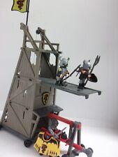 Playmobil ® Angriffsturm Belagerungsturm aus 4441 Ritter Figuren Waffen Helme