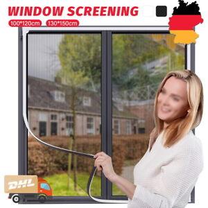 Fliegengitter Magnetrahmen Insektenschutz Fenster ohneBohren Magnet Mückenschutz
