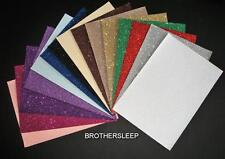 Glitter Paper Soft Touch Sparkly  Choice of Colours