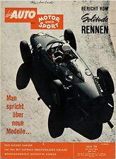 Auto Motor Sport 1961 16/61 Dethleffs Nomad Dodge Lancer Singer Vogue VW Käfer