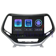 10.1in Android 8.1 Car GPS Radio Player For JEEP Cherokee 2016+ Multimedia Unit