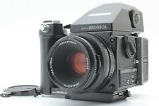 【 MINT CLA'd 】 Bronica ETR-Si Film Camera AE III Finder 75mm Grip from JAPAN