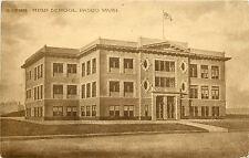 Vintage Postcard High School Pasco WA Franklin County