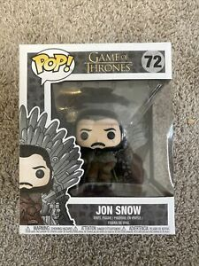 FUNKO POP! Game of Thrones Jon Snow On Iron Throne #72 MINT