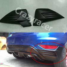 Unpainted Rear Bumper Splitter Flare for Ford Fiesta MK7 Hatcback 2008-12