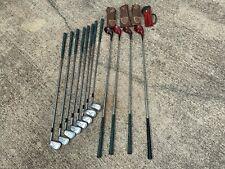 Vintage Ben Hogan Golf Club set, irons and woods
