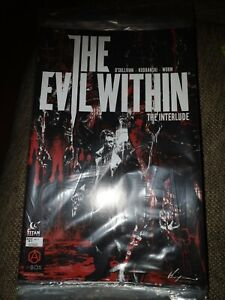 THE EVIL WITHIN TITAN COMICS-INTERLUDE #1 EXCLUSIVE VARIANT COVER ABOX RARE