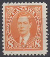 Canada #236 8¢ King George VI Mufti Issue Mint Never Hinged - A
