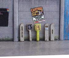 60 x LASER CUT FIRE HYDRANT GAS WATER POSTS OO SCALE 1:76 MODEL RAILWAY LX009-OO