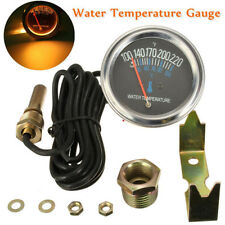 "Pro 2"" 52mm Car Mechanical Water Temperature Temp Meter Gauge 38℃~104℃ 12V DC"