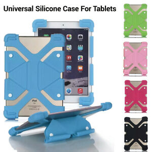 """Universal Protective Cover Case Silicone Shell Stand For All 7""""8""""10""""inch Tablet"""
