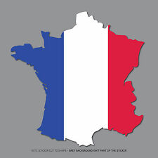 SKU2556 - French Country Flag Sticker - Car Bumper - Truck - Bus - Van - Fleet
