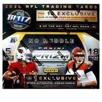2020 PANINI PRIZM FOOTBALL NO HUDDLE HOBBY BOX IN STOCK FREE SHIPPING