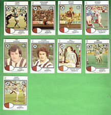 #D404. 1975   PENRITH PANTHERS   RUGBY LEAGUE  CARDS - ALL 9 CARDS