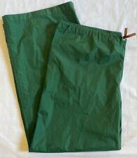 Vintage REI Coop Gore-Tex Fabric Nylon Green Pants Waterproof Rain Snow XL