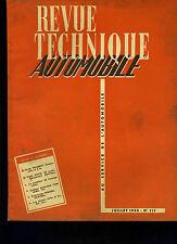 (C11)REVUE TECHNIQUE AUTOMOBILE PEUGEOT CAMIONNETTE D3A / BUICK V8