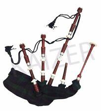 Scottish Great Highland Rosewood Bagpipe