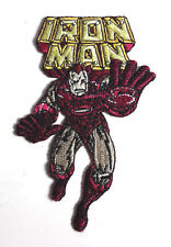 "Iron Man Comic Book 4"" Embroidered Patch- FREE S&H (DMPA-55)"