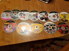 Xbox LOT OF 12 games Sports, Spiderman, Sneakers, Tony Hawk, Cars, etc. USED