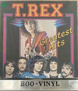 "T. REX ""Greatest Hits""Vinyl LP. Neon Label EX / VG+ Con"