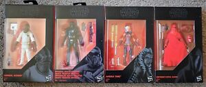 Star Wars Série Noire Mort Trooper Ackbar Ahsoka Tano Empereur Garde Figurines