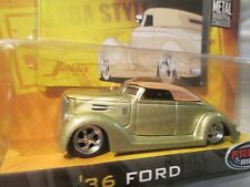 36 FORD RAG TOP  dub city old skool  GOLD mags jada 1/64  8+ wave 1  ,2005