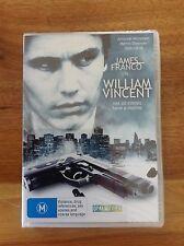 William Vincent DVD Staring James Franco and Julianne Nicholson