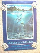 Greenpeace Hawaii Poster Print By Robert Lyn Nelson Save The Dolphins 1984