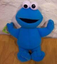 "Fisher-Price Sesame Street COOKIE MONSTER 11"" Plush Stuffed Animal NEW"