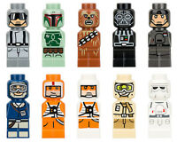 LEGO Star Wars - Rare - Complete Set of 10 Microfig - New - Microfigs From 3866